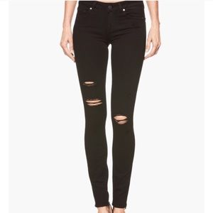 Paige black verdugo ultra skinny jeans